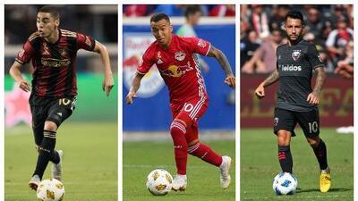 Varias figuras latinoamericanas optan a los máximos premios de la MLS en la temporada 2018