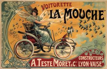Historia visual de la publicidad automotriz: Desde 1888 hasta 1919