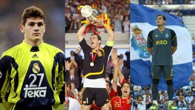 Así fue paso a paso el camino de promesa a leyenda de Iker Casillas