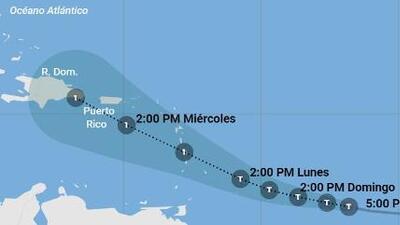 Se forma Dorian, una tormenta tropical que amenaza con llegar como huracán a Puerto Rico y República Dominicana