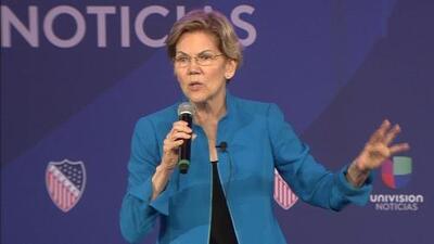 Estos son los cuatro puntos clave del plan de inmigración de Elizabeth Warren