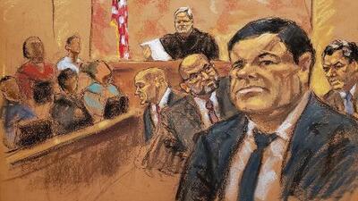 """""""Estábamos bastante tristes, algunos todavía no estaban seguros"""": los detalles revelados por un jurado de 'El Chapo'"""