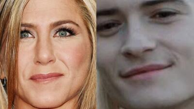 Katy Perry le dice a Orlando Bloom que se parece a Jennifer Aniston y nosotros lo comprobamos