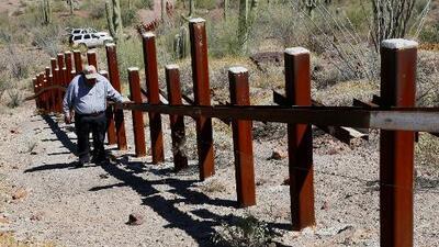 La tribu Tohono O'odham avisa con acciones a Trump si sigue con el muro fronterizo