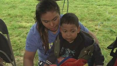 Él es Alfredo Díaz, un niño con una enfermedad genética que necesita un trasplante de células madre para sobrevivir