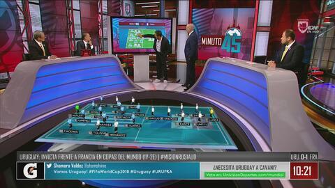 Matosas dio las claves para que Uruguay remonte el 0-1 ante Francia en la segunda mitad