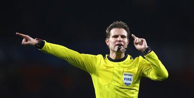 El alemán Felix Brych será el árbitro del Manchester City-Real Madrid