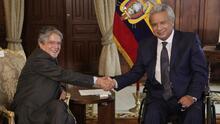 ¿Qué país le entrega Lenin Moreno al presidente electo Guillermo Lasso?