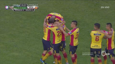 ¡Goool de Reyes! Monarcas ya gana 1-0 a Alebrijes