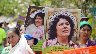 Abogados denuncian que el asesinato de Berta Cáceres no fue un hecho aislado sino un complot