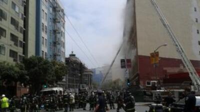 Incendio alarma a San Francisco
