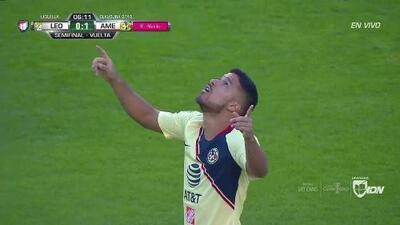 ¡GOOOL! Bruno Valdez anota para América
