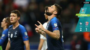 Aplacan la sorpresa... Francia remontó a Moldovia en eliminatorias