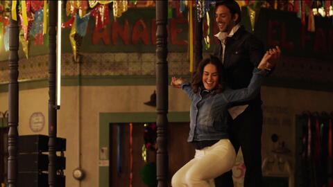 'Doña Flor y sus dos maridos' - Con este sensual baile Flor y Valentín desataron la pasión de todo un pueblo - Escena del día