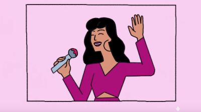 Los detalles íntimos, cuadro a cuadro, del homenaje de Google a Selena Quintanilla