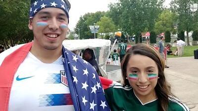 Fans del Tri y Team USA apostaron bodas y platos