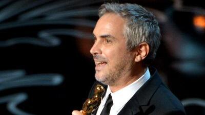 Alfonso Cuarón ganó el Oscar al mejor director por la película 'Gravity'