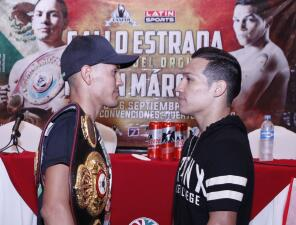 Caliente conferencia de prensa de Juan Francisco 'Gallo' Estrada y Hernán 'Tyson' Márquez