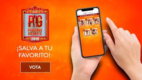 Vota por tu escuadrón favorito de Pequeños Gigantes 2019, te decimos cómo