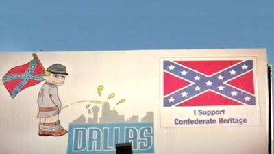 """Este anuncio que apoya la """"herencia confederada"""" genera polémica en Texas"""