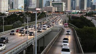Residentes de Miami pierden más de cuatro días al año en tráfico