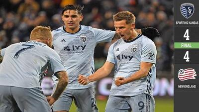 El chileno Felipe Gutiérrez encabeza remontada con doblete en duelo de goles en KC