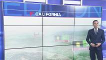 Vientos en calma y algunas lluvias dispersas para este martes en la noche en el sur de California