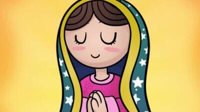 Feliz día de la Virgen de Guadalupe