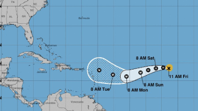 El huracán Irma avanza por el Atlántico y algunas previsiones indican que podría golpear EEUU