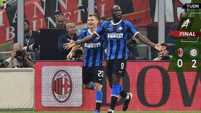 El Inter de Conte vence al Milan en el Derby della Madonnina