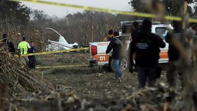 Mueren en accidente aéreo la gobernadora electa de Puebla y su esposo