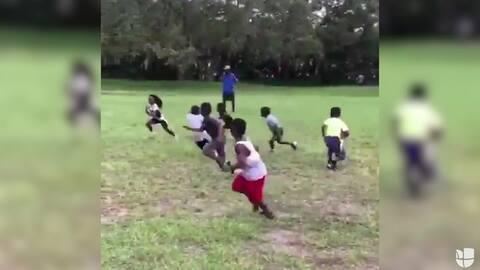 Niño prodigio: quiebres de cadera a sus oponentes y futuro candidato para la NFL
