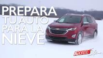Prepara tu carro para las nevadas | A Bordo Tips
