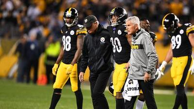 James Conner se perderá el próximo juego de Pittsburgh por lesión