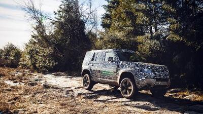 Confirmado: la Land Rover Defender vuelve en 2020