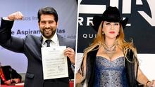 Arturo Carmona inicia su campaña política con el tema 'Ay Papacito' de su ex Alicia Villarreal como himno