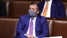 Esto fue lo que dijo el senador Ted Cruz minutos antes del asalto al Capitolio