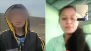 Mamá del niño abandonado en la frontera narra cómo fue liberada