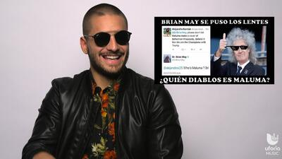 'Who's Maluma?': Maluma responde a Brian May