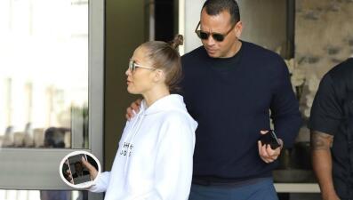 A-Rod le echa el ojo a Jennifer López, pero ella mira a otro en su celular (y sabemos quién es)