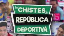 América y Cruz Azul, protagonistas de los chistes de República Deportiva