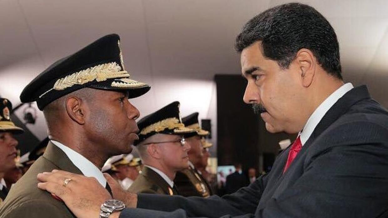 Venezuelan ex-spy chief at center of plot to oust Maduro fled to Colombia