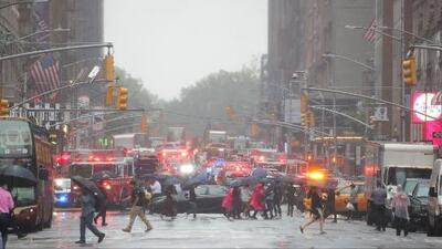 Estas son las calles en Midtown Manhattan que estarán cerradas tras la caída de helicóptero
