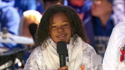 """Yolanda Renee King, nieta de Martin Luther King Jr: """"Yo también tengo un sueño: 'Suficiente es suficiente"""""""