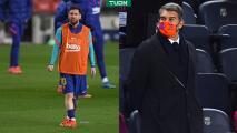 Laporta asegura que la renovación de Messi avanza