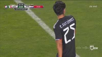 Erick Gutiérrez reventó el travesaño y Paraguay se salva del cuarto