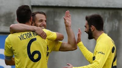 Eibar 1-2 Villarreal: El Villarreal remonta al Eibar en Ipurúa y se mantiene arriba
