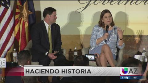 La nueva embajadora de México en EE.UU participó en la celebración de los 60 años de la relación México Arizona
