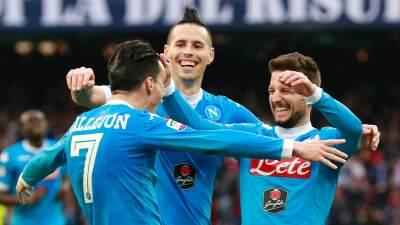 Nápoles sigue líder tras golear al Empoli con otro tanto de Higuaín y doblete de Callejón