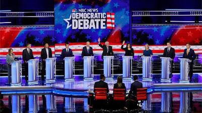 Cuba, Venezuela y Nicaragua: tres países de los que no hablaron en la segunda jornada del debate presidencial demócrata